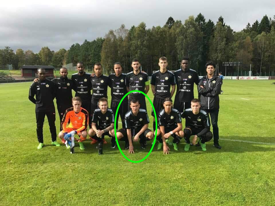 Haris odlucio za Hisingsbacka FC